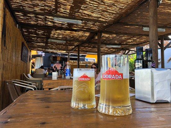 Villa de Mazo, Espanha: Das Bier ist gut gekühlt