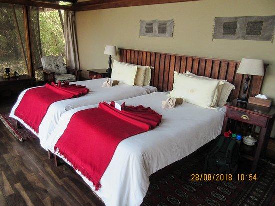 Kwando Concession NG14, Botswana: room sleeping area