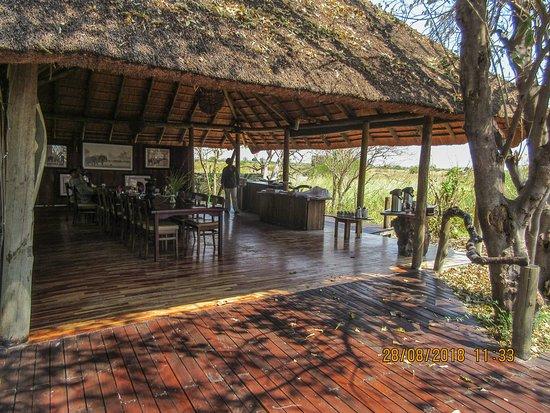 Kwando Concession NG14, Botswana: dining area