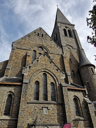 Eglise Saint-Nicolas : Por fuera.