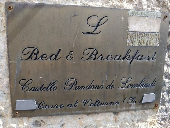 Castello Pandone: Targa bed & breakfast nel Castello
