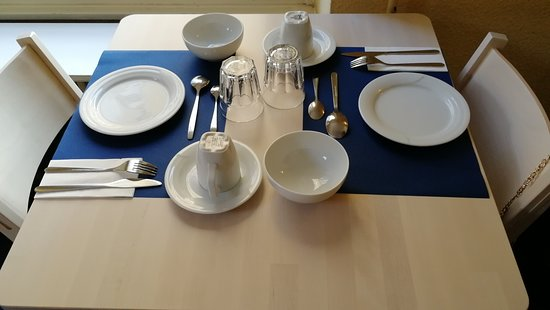 Hotel Lido: Disposición de platos