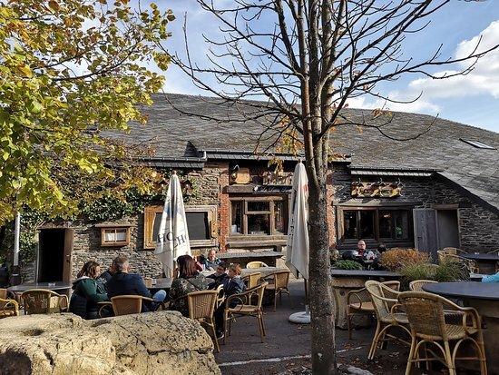 Wibrin, Bélgica: Terraza