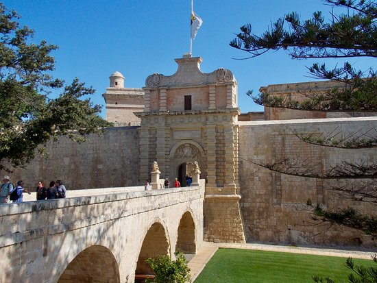 Mdina Old City: Entrada a la ciudadela