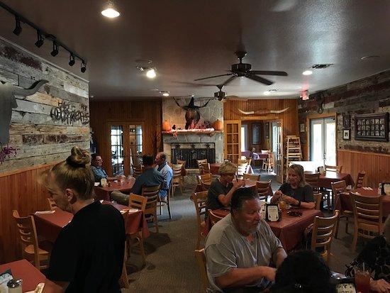 Bergheim, Teksas: dining room