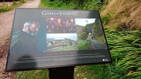 Cushendun, UK: 電視連續劇權力遊戲拍攝點