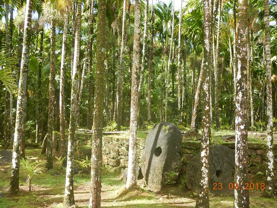 Colonia, Federated States of Micronesia: Money banks and stone paths