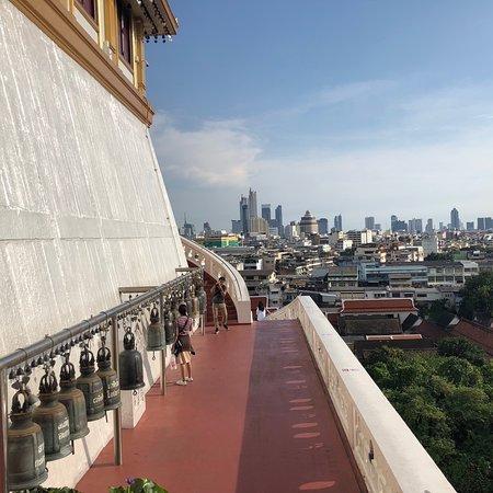 Schöner Blick über die Stadt