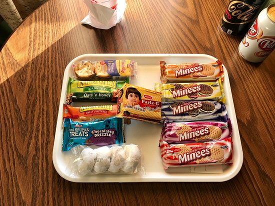 Sanderson, Teksas: Complimentary Snack Tray
