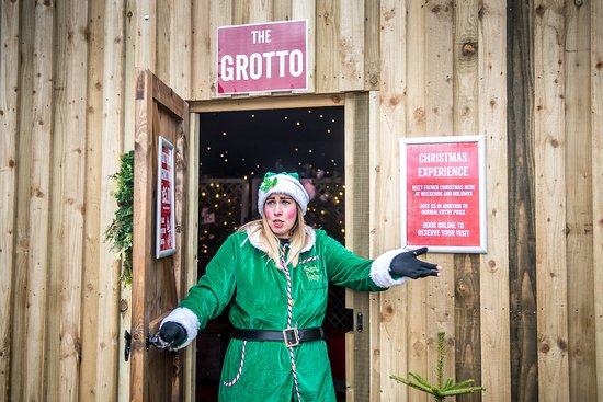 Meet the elves!. The Christmas Experience at Cotswold Farm Park