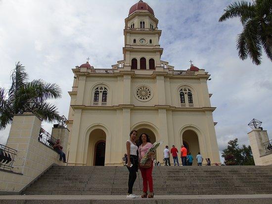 El Cobre, Cuba: Escalera principal