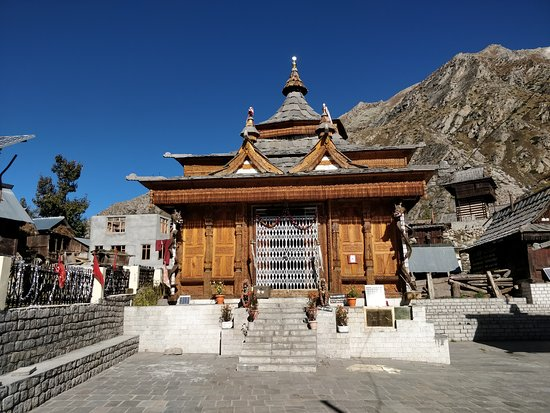 Chitkul, Indien: The temple