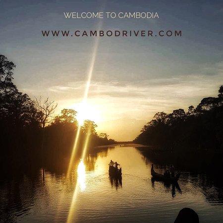 Sunset at South Gate Of Angkor Thom