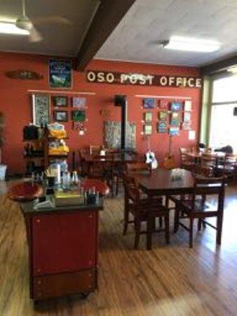 Darrington, WA: Dining room