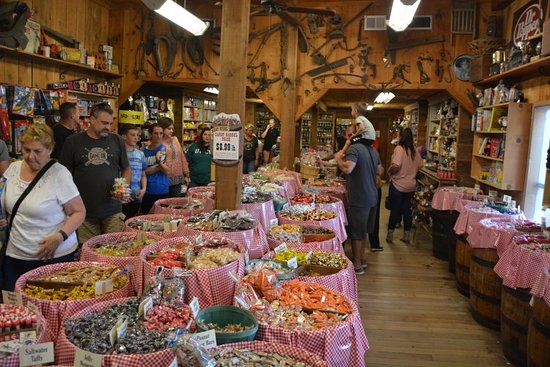 Mast General Store: Over 50+ Barrels of Candy