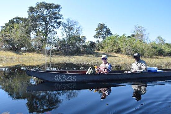 Okavango Delta: Safari en Mokoro