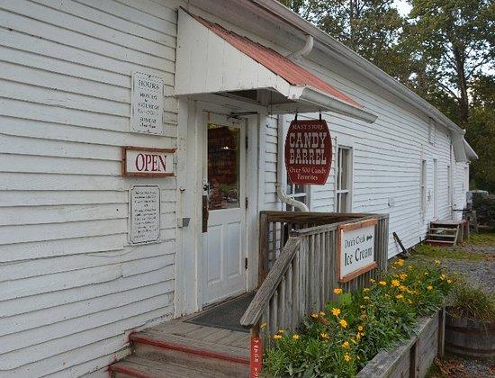 Mast General Store: Side Door