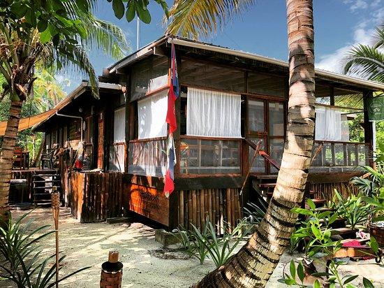 Long Caye, Belize: Lodge..