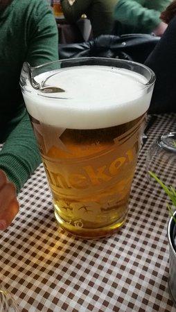 Cesinali, Ιταλία: Boccale di birra da 1,5 litri