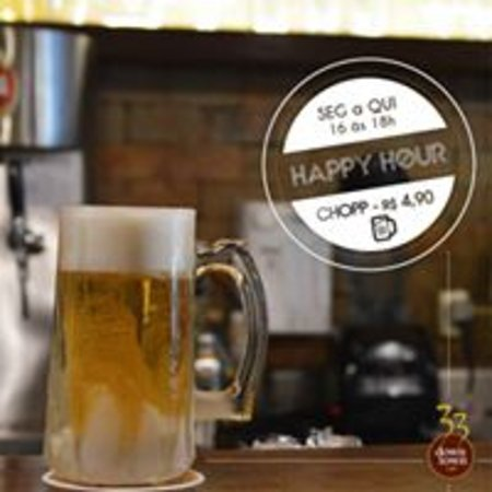 Happy Hour com preço imbatível.
