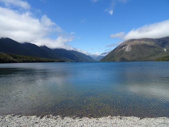 Saint Arnaud, Новая Зеландия: Départ du lac