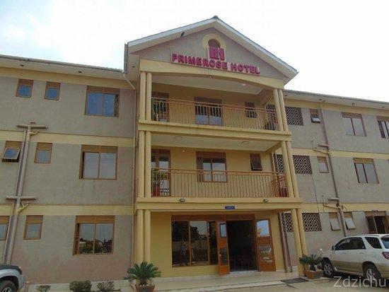 Mubende, أوغندا: budynek hotelu i restauracji