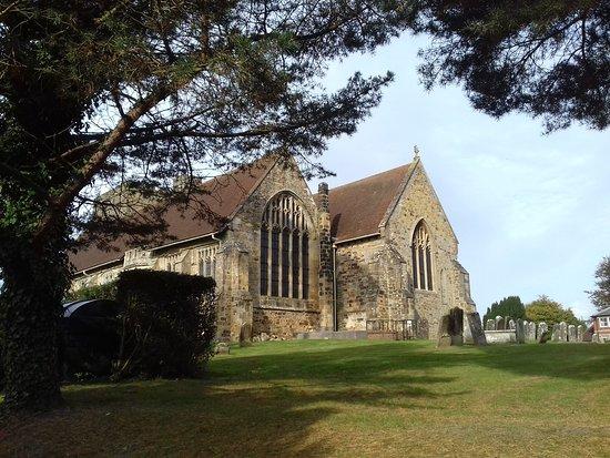 Goudhurst, UK: Church next door