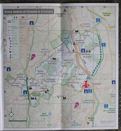 Office de Tourisme de la Communaute de Communes < Entre Saone et Grosne >