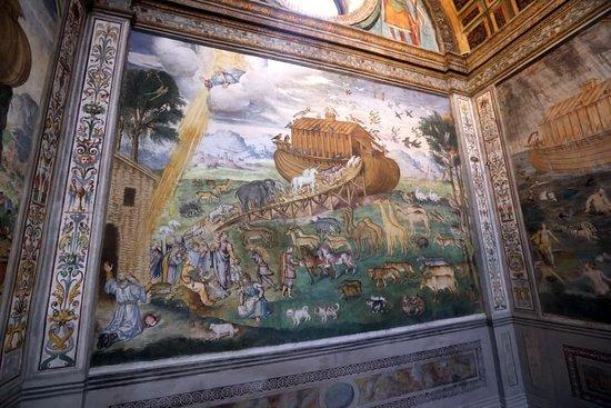 Chiesa di San Maurizio al Monastero Maggiore: arca di noe'