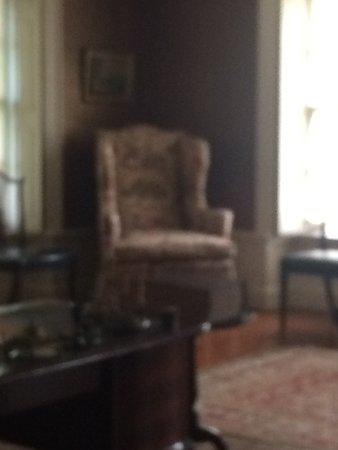 John Adams' favorite chair