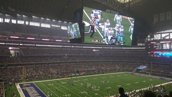 dallas cowboy game at a t t stadium picture of at t stadium rh tripadvisor com