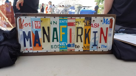 People come from all over to see the folks and try the great brews at Manafirkin!