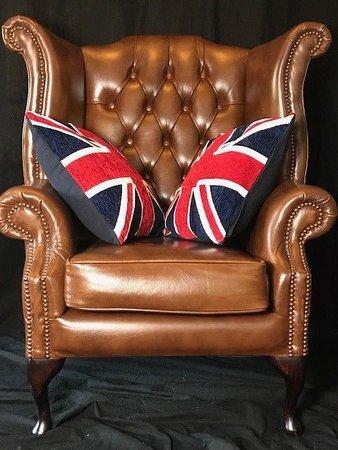 superb english handmade chesterfield style leather reproduction rh tripadvisor com