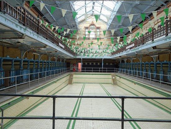 Victoria Baths: The Ladies pool
