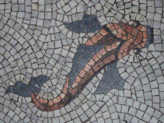 Victoria Baths: Mosaic floor