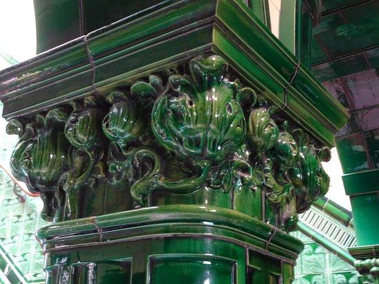 Victoria Baths: Pillar
