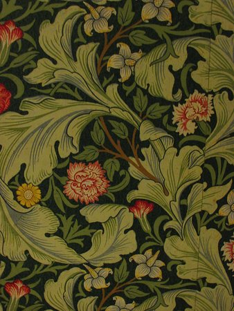 Excellent William Morris Wallpaper In Most Of The Rooms