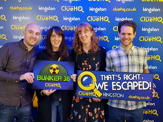Kingston upon Thames, UK : That's right, they escaped BUNKER 38!