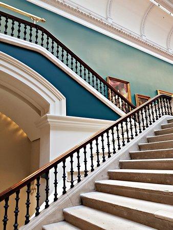 Galería Nacional de Irlanda en Merrion Square: escaleras