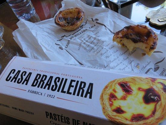 Pastelaria Casa Brasileira: Delicious Pasteis de Nata