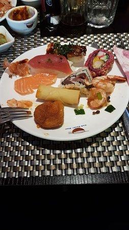 Wok Sushi Star: kleine Vorspeisen-Auswahl