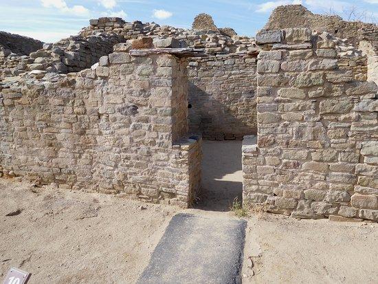 Aztec, NM: Ruins-7-Doorway