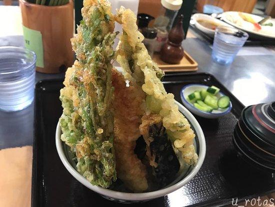 Nishiaizu-machi, Japonsko: 天丼830円