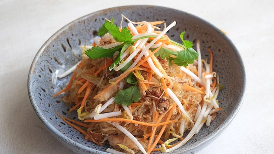 Timaru, Nova Zelândia: Vegetable stir fry noodle