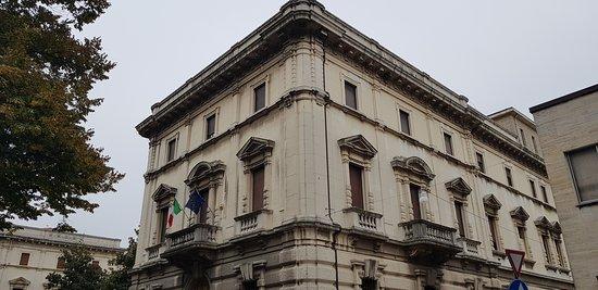 ex casa del fascio di Ferrara, voluta da S.E. il Comandante Italo Balbo