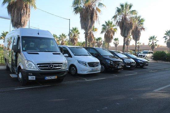 Armacao de Pera, Portugal: A nossa frota é constituida por Mercedes Vito Longa, Peugeot 508, Ford Gallaxy e Mercedes Sprint