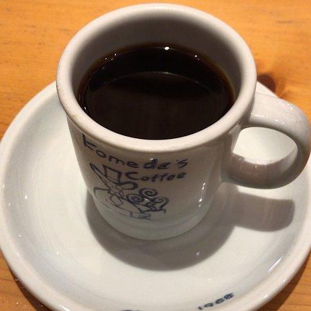 ブレンドコーヒー と C:名古屋名物おぐらあん (2018/10/16)
