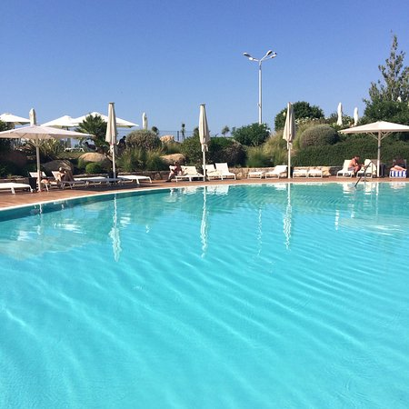 A room with a view , the lovely swimming pool and a lovely breakfast in the sun.