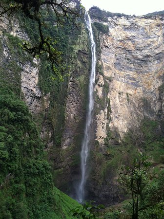 Chachapoyas, Peru: taken at first viewing point of Gocta Falls