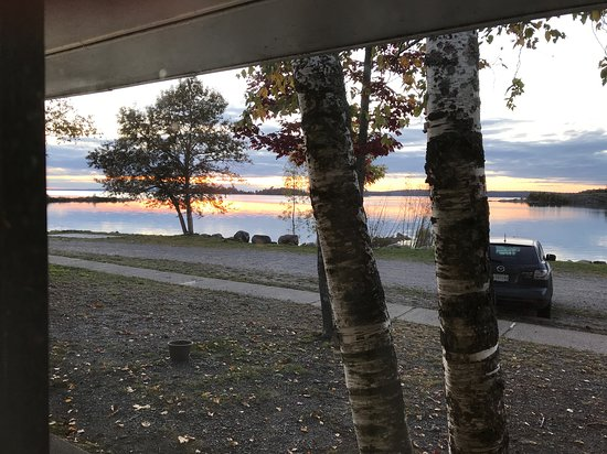 Thessalon, Canadá: Sunset in October